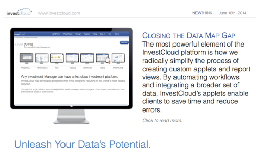 InvestCloud Closes the Data Map Gap